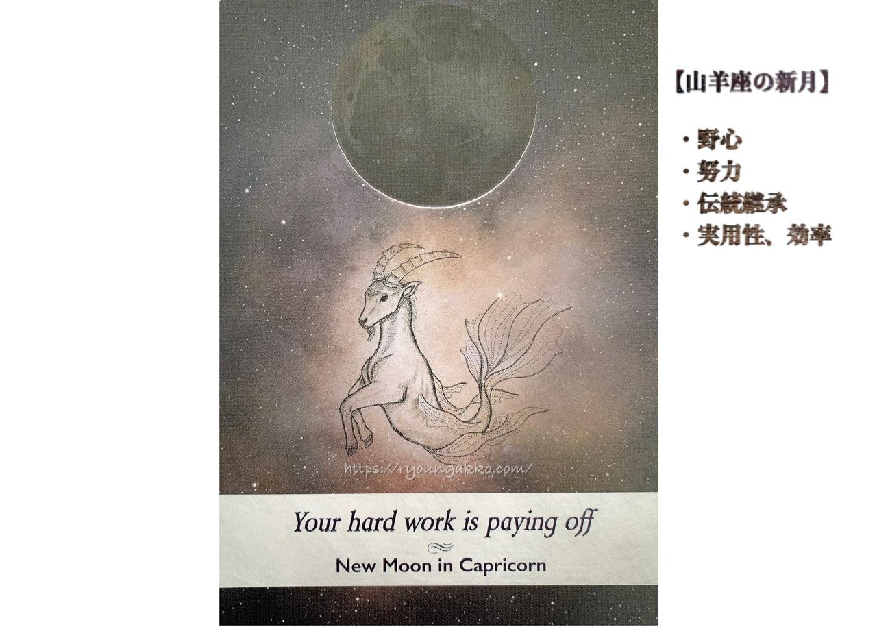【山羊座の新月】1月13日㊌新月のパワーは毎回違うよ!